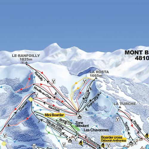 Ski Map Valle dIlliez